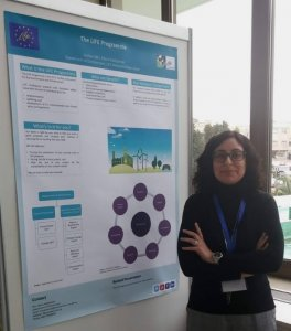 The LIFE Cyclamen poster at CLIMATICO 2019 Conference