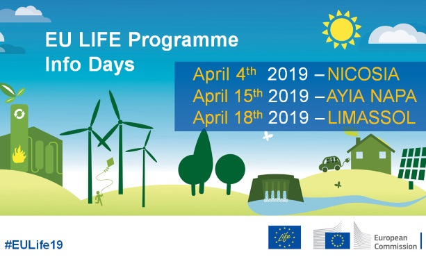 LIFE Programme Info Days 2019 in Cyprus